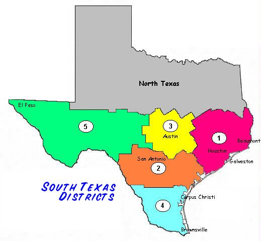 Texas South Districts